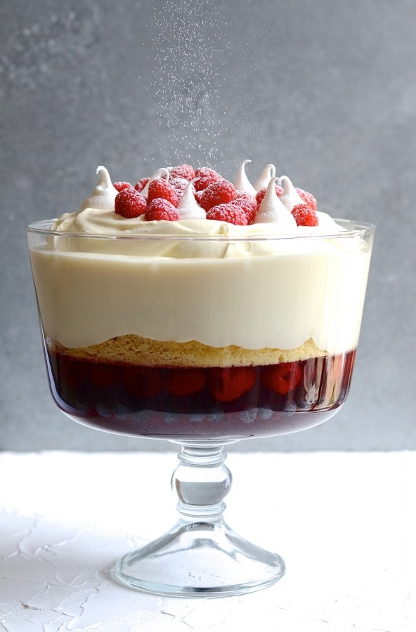 How to make a showstopper trifle | Bibbyskitchen dessert recipes