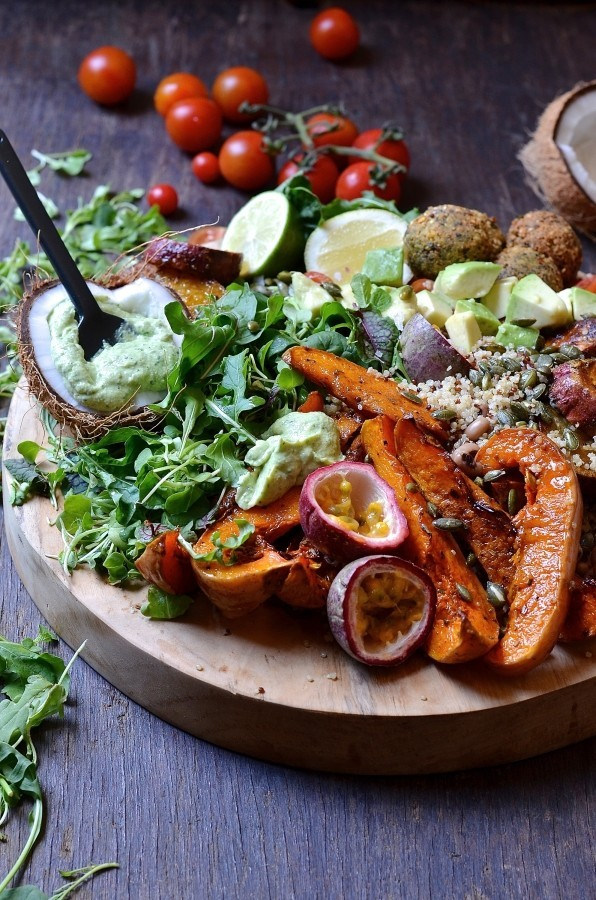 The Ultimate Buddha Bowl Harvest Board | Bibbyskitchen recipes