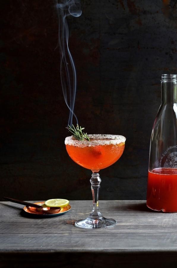 Strawberry and Limoncello mojito cocktails | Bibbyskitchen recipes