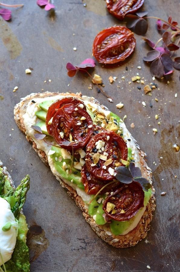 Middle Eastern Avocado toast