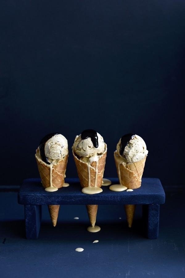 Black sesame and liquorice ice cream   Bibbyskitchen recipes