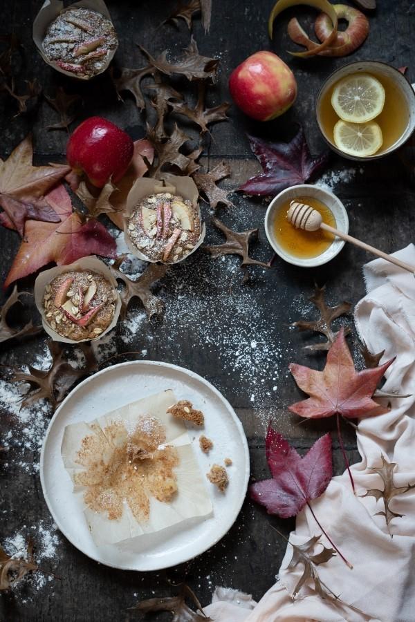 Green tea apple muffins - Bibby's Kitchen @ 36 | Bibby's breakfast muffiins