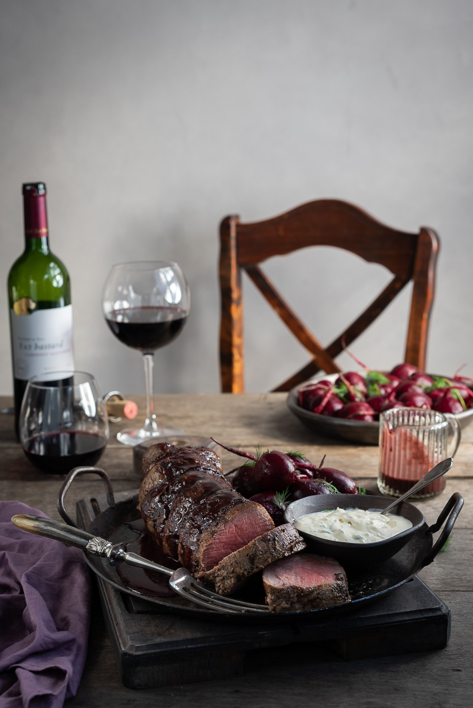The perfect roast fillet of beef