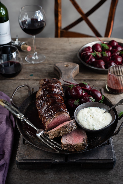 The Perfect roast fillet of beef | Bibbyskitchen recipes