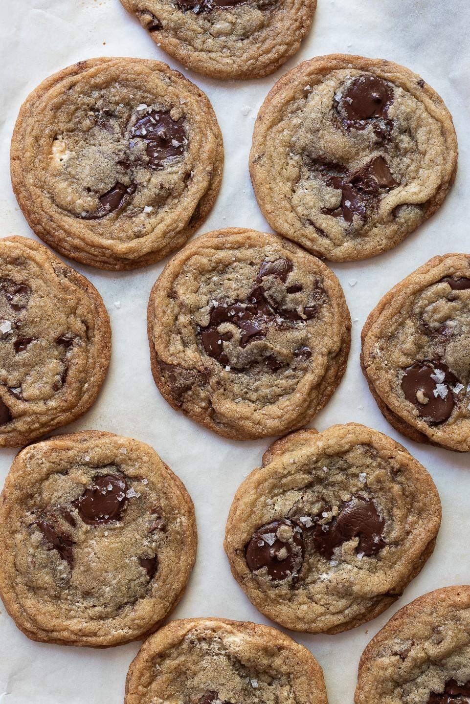The best halva chocolate chip cookies | Bibbyskitchen @ 36