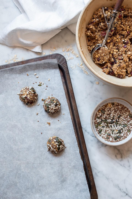 Tahini breakfast cookies | Bibbyskitchen Recipes | Vegan cookies