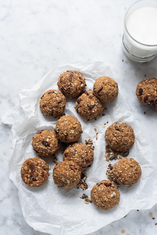 Tahini breakfast cookies   Bibbyskitchen vegan recipes