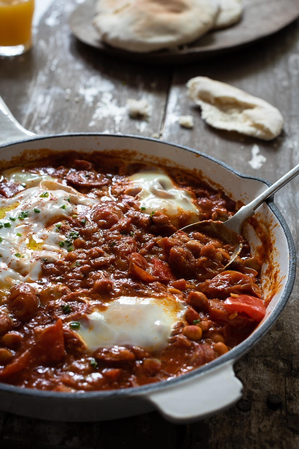 Chorizo shakshuka | Bibby's Kitchen at 36 | Breakfast recipes