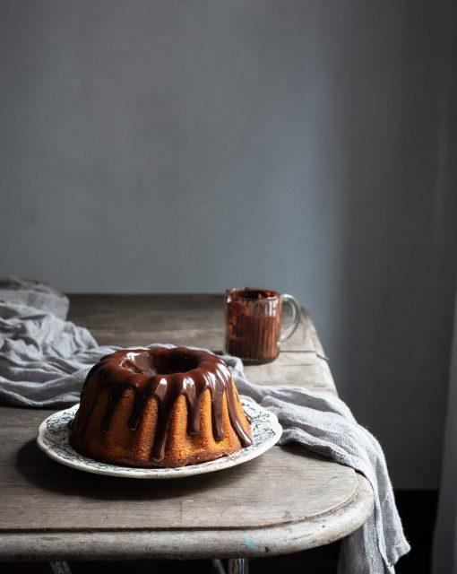 Brazilian carrot cake from Genius Desserts