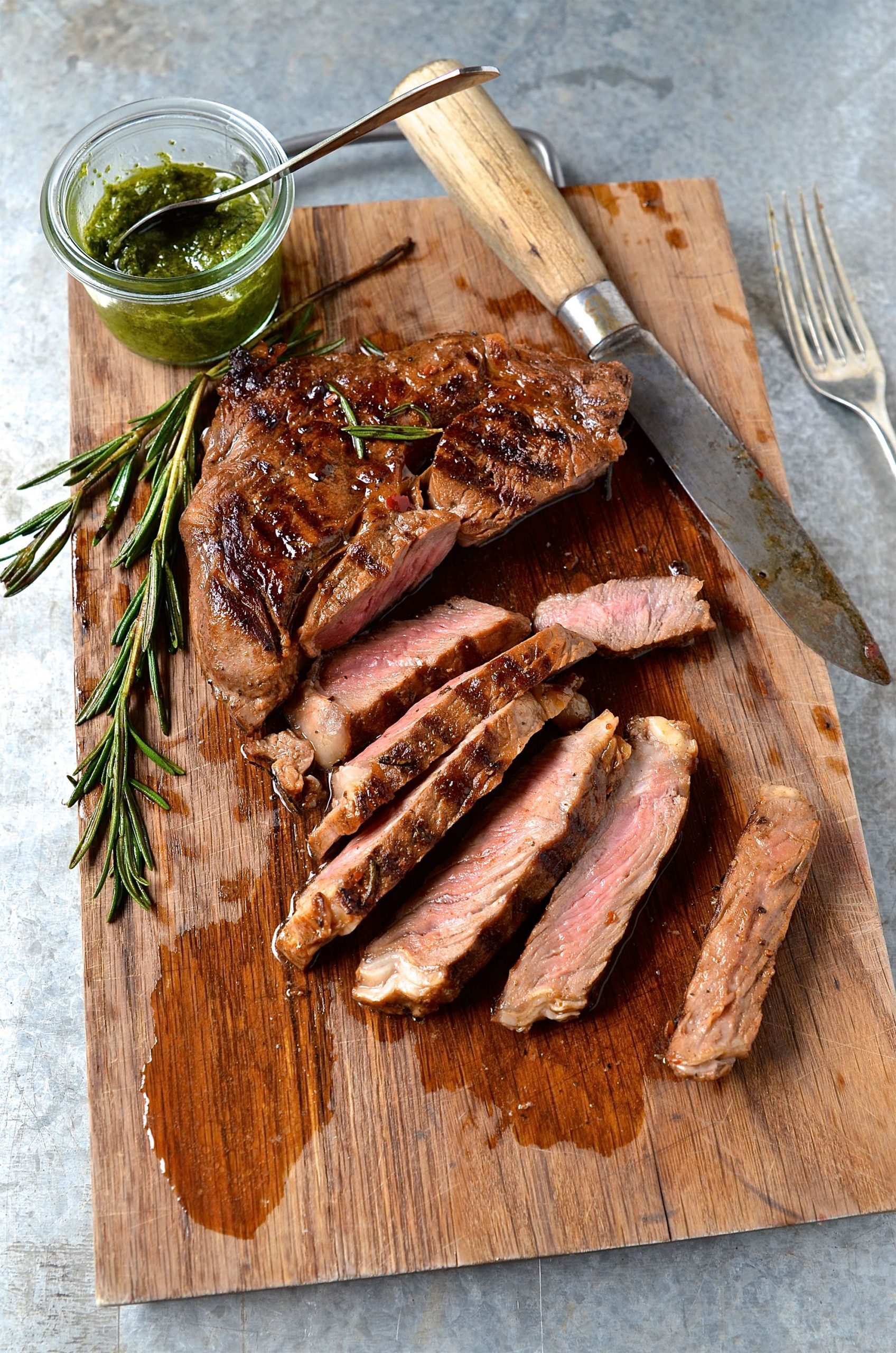 Best marinated rib eye steak