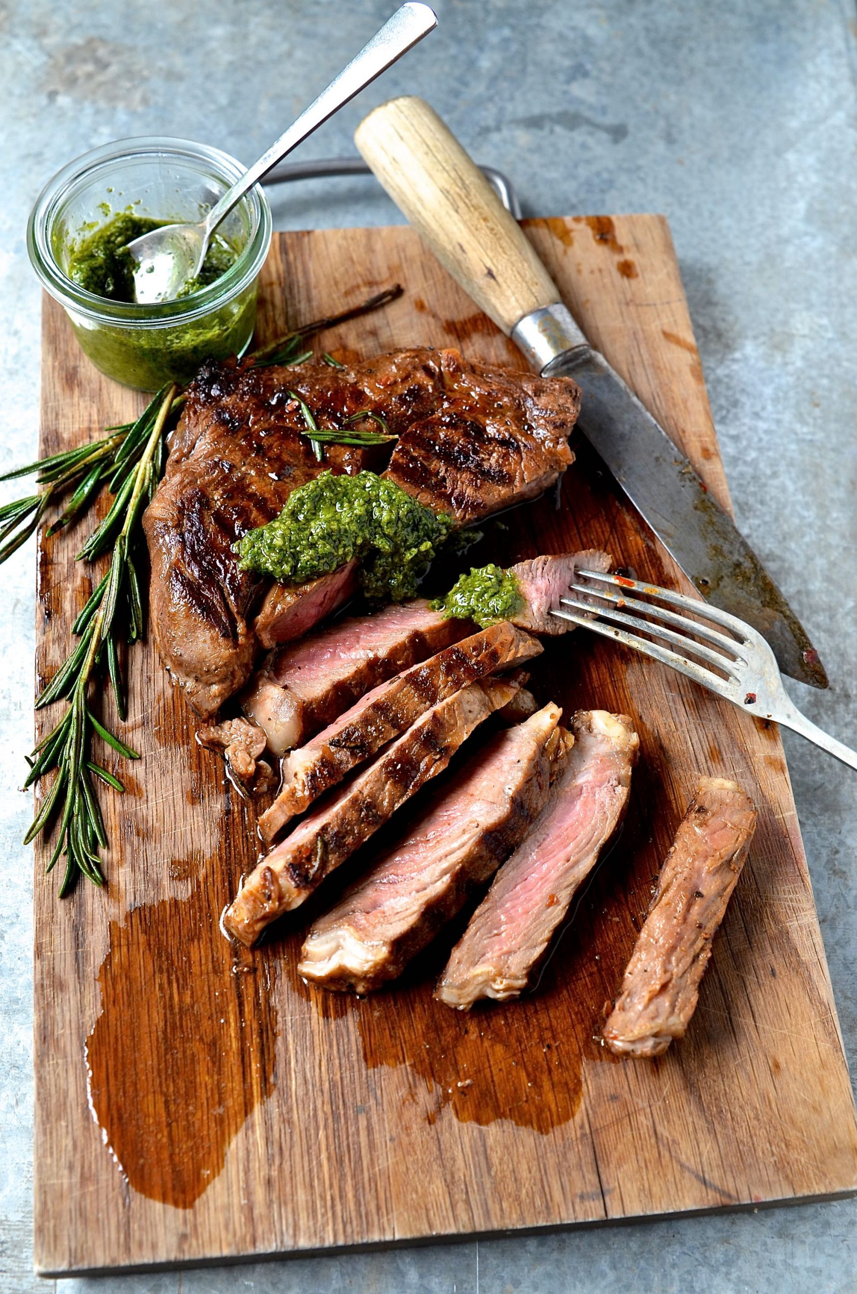 Best marinated rib eye steak