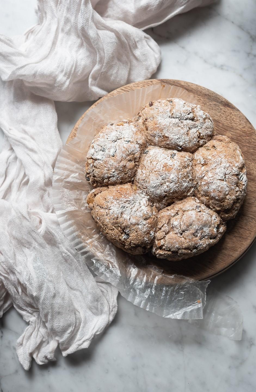 Spicy hot cross bun soda bread | Bibbyskitchen Bread recipes