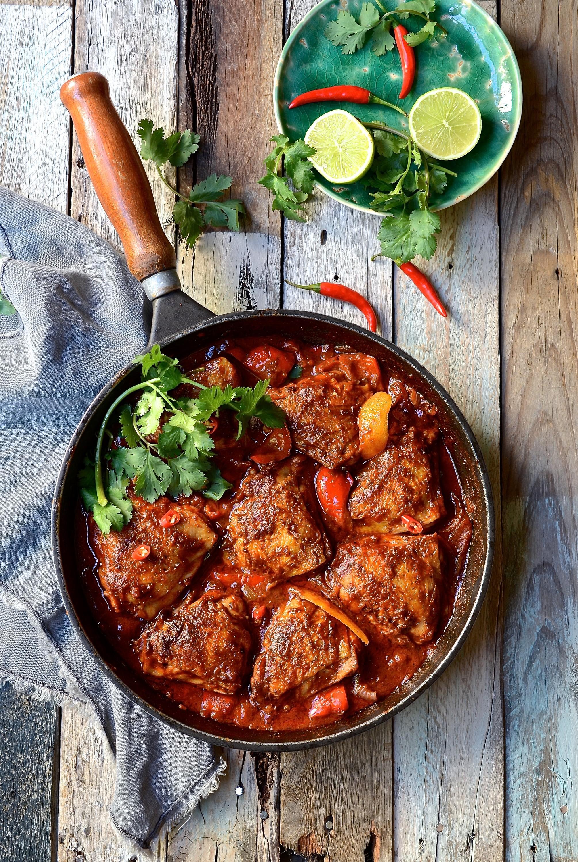 Mexican chipotle chicken casserole | Bibbyskitchen recipes