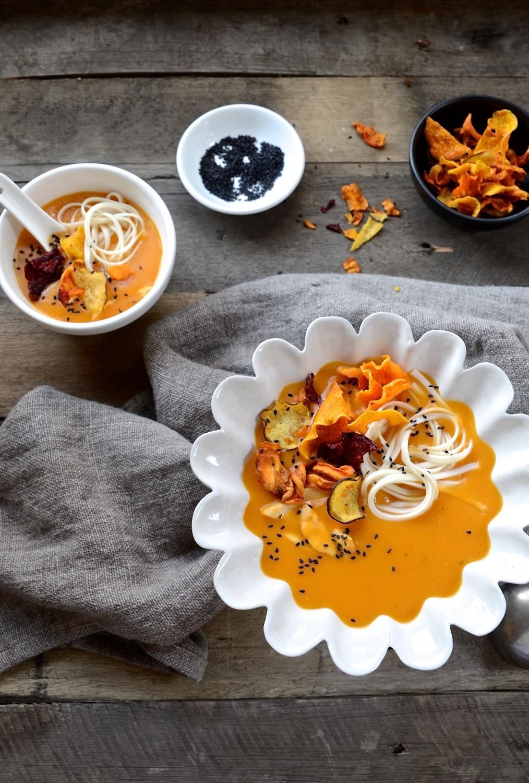 Red Thai butternut soup