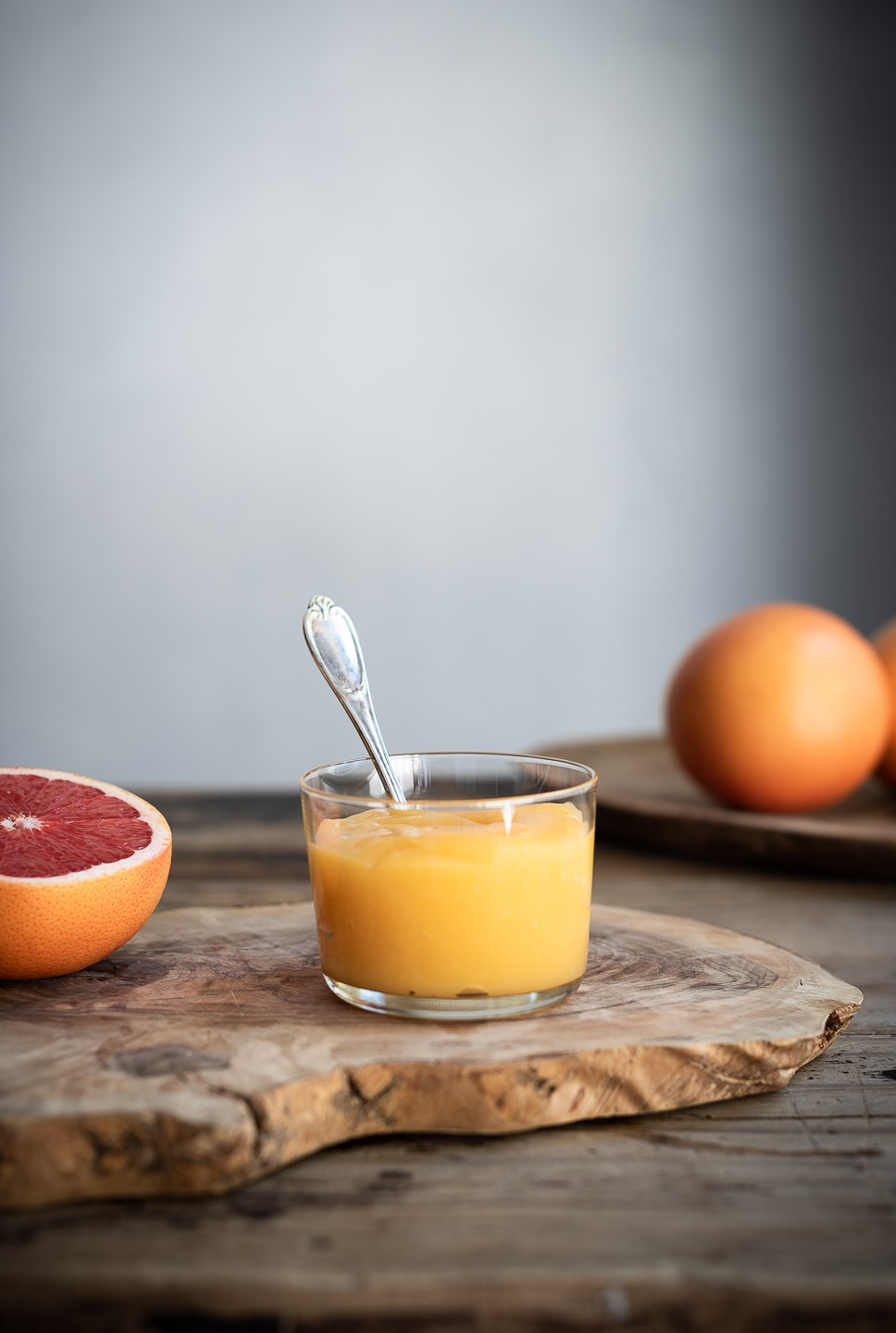 Ruby grapefruit curd | Bibbyskitchen recipes | Easy preserves