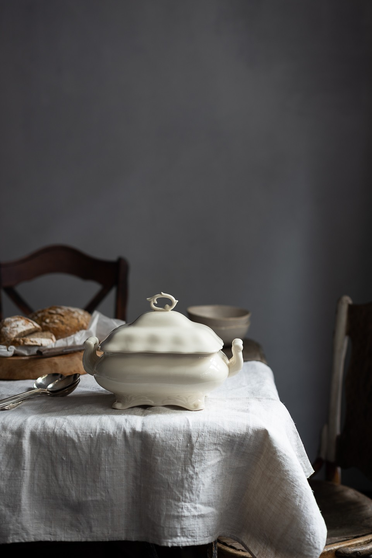 Roast butternut soup with chickpeas and leeks | Bibbyskitchen recipes