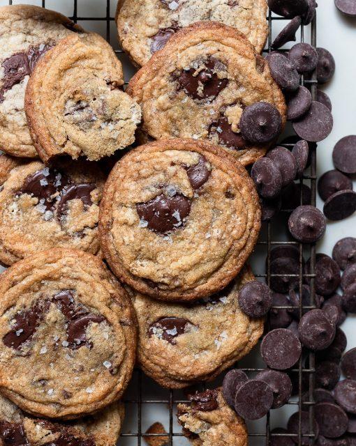 The best halva chocolate chip cookies