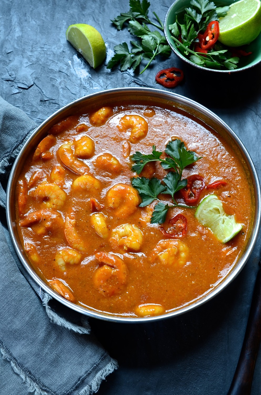 Prawn and coconut cream curry|easy curry paste recipe