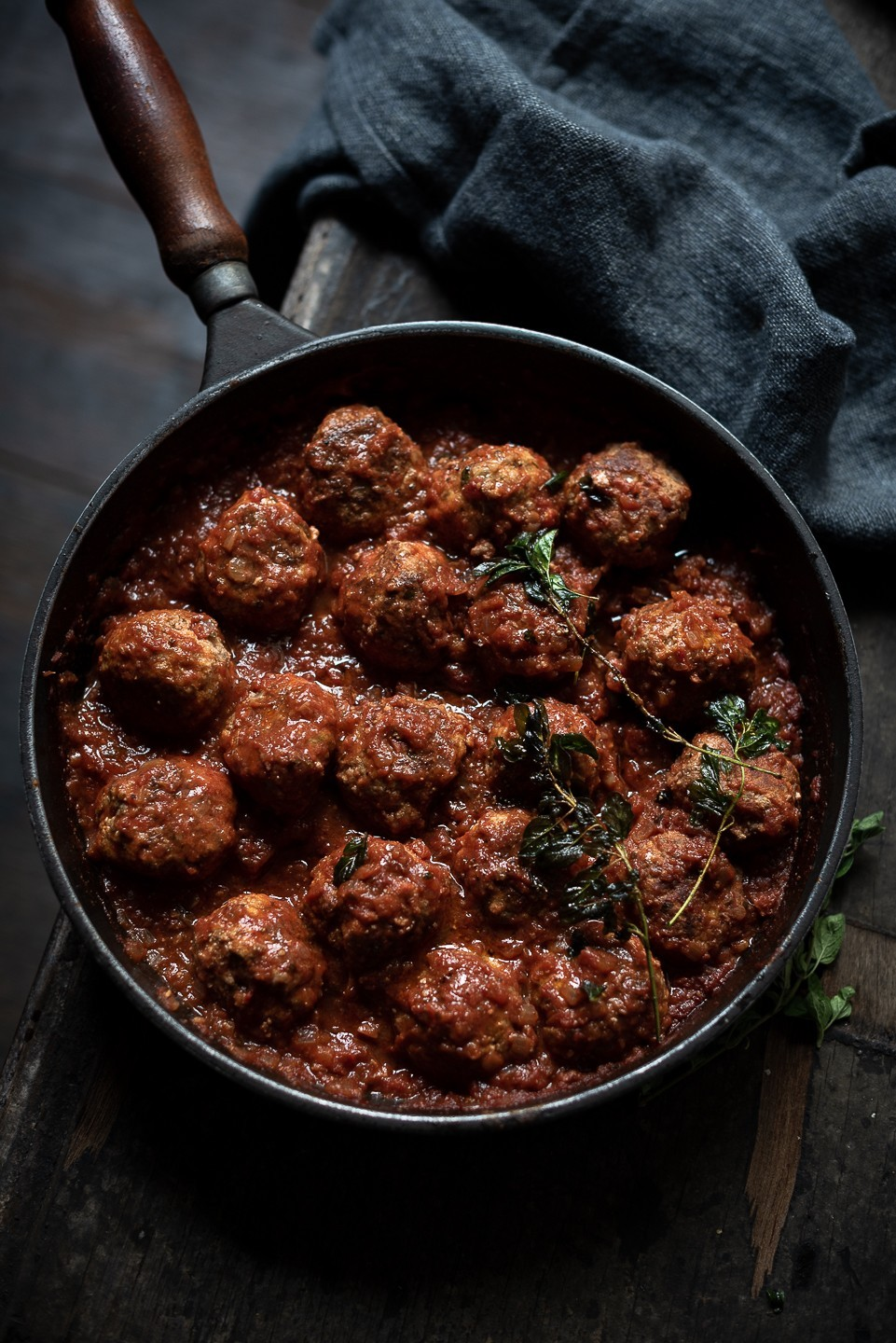 Ottolenghi's ricotta and oregano meatballs | Bibbyskitchen Recipes