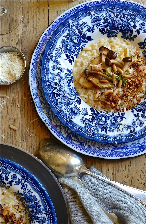 Brown Butter Risotto | Bibbyskitchen recipes | Pasta