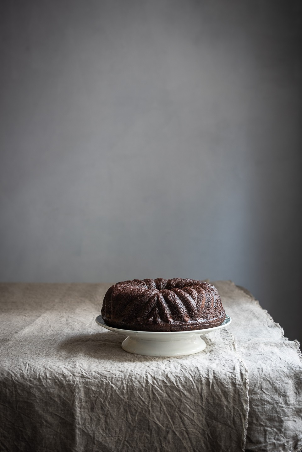 Red wine and olive oil chocolate cake | Bibbyskitchen recipes