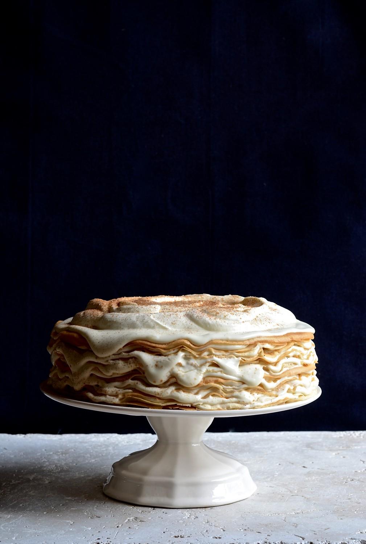 Milk Tart Pancake Mille Feuille A Bibbyskitchen Recipe