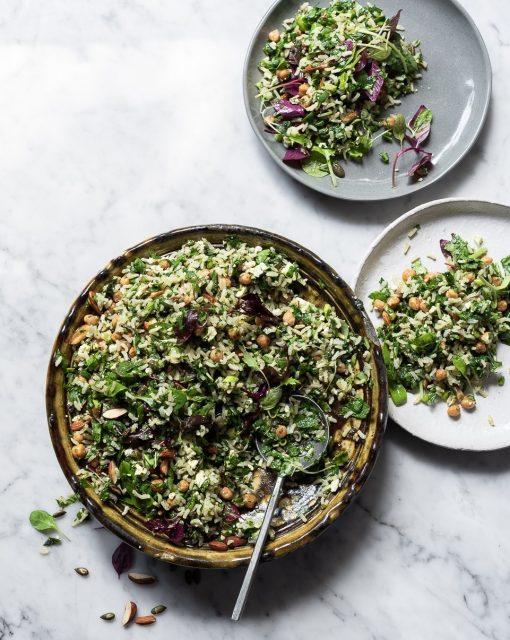 Life changing wild rice salad