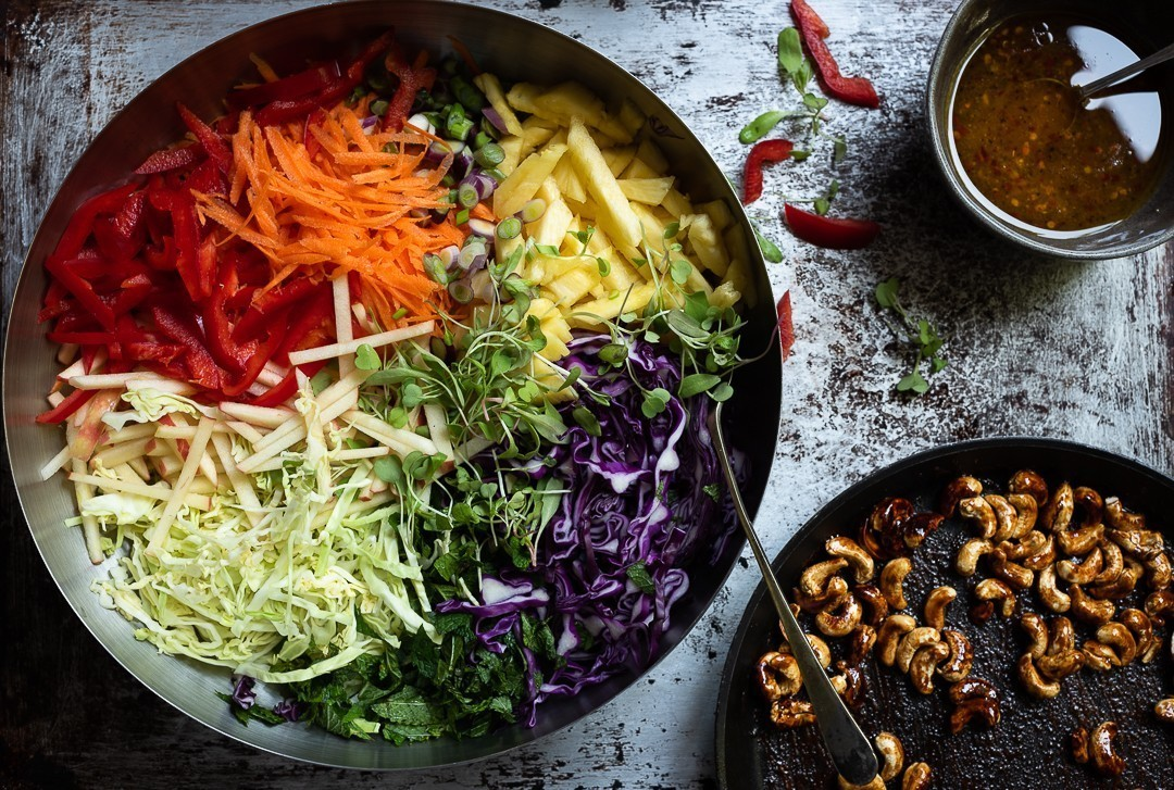Life changing wild rice salad | Bibbyskitchen recipes
