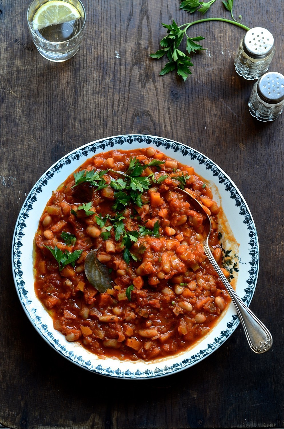 Fennel and cannellini bean stew | Bibbyskitchen recipes | Vegan recipes |