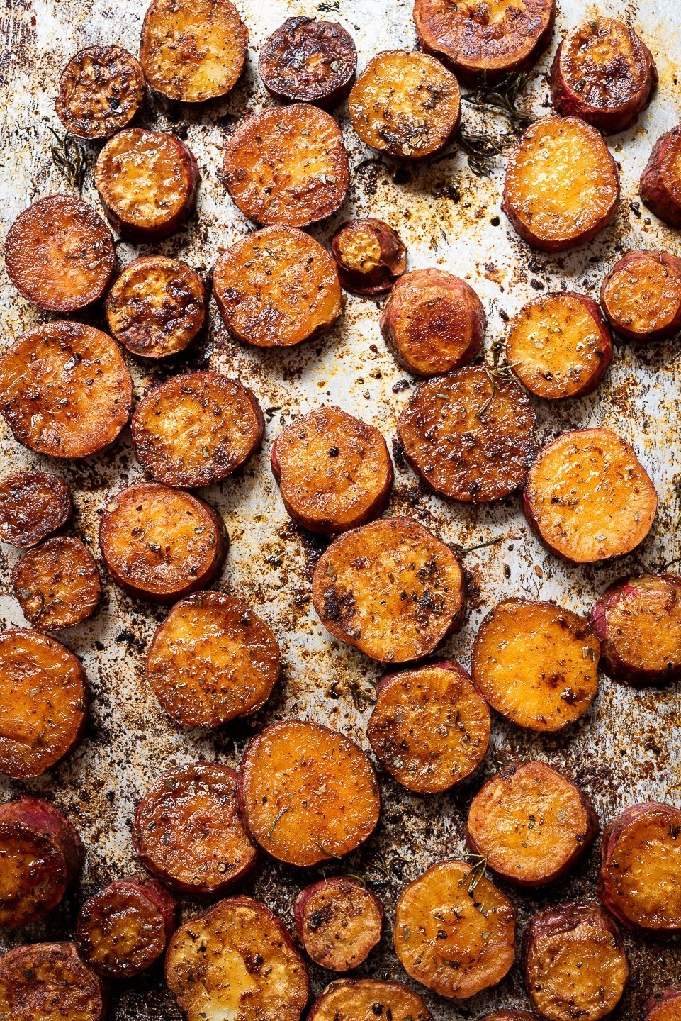 Paprika Roast Sweet Potatoes | Bibbyskitchen recipes