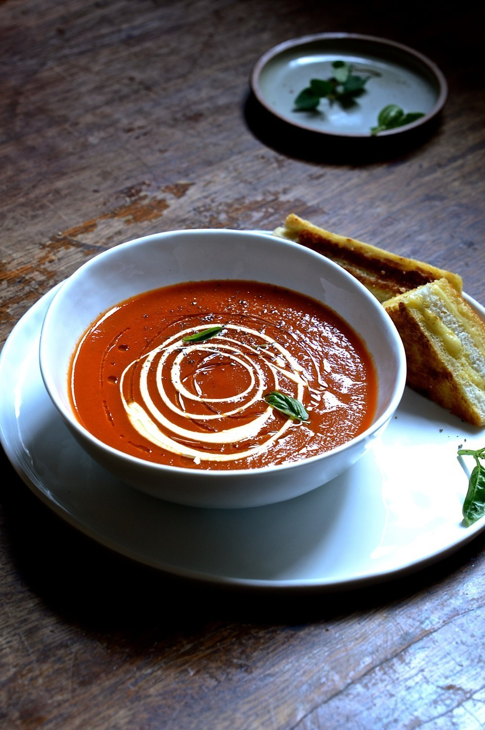 Simple sundried tomato soup