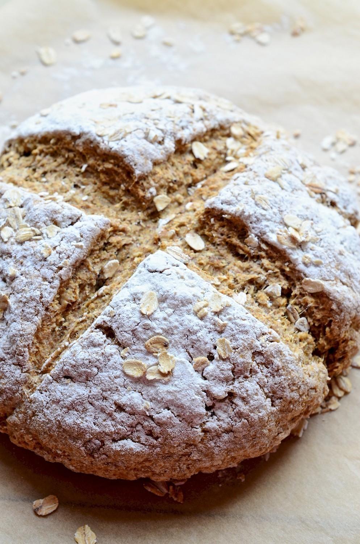Walnut soda bread