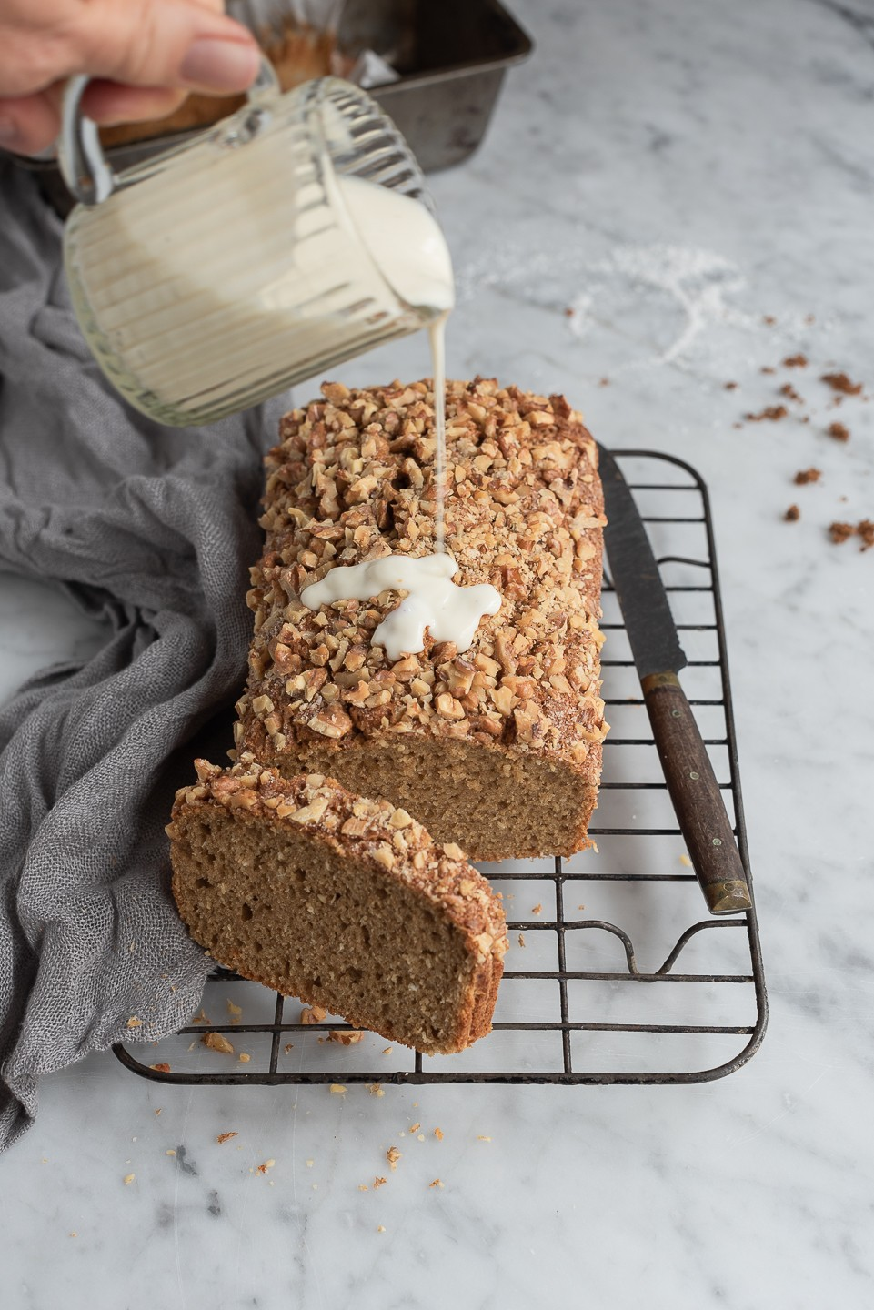 Blender coconut banana bread | Bibbyskitchen baking recipes