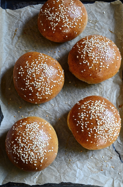 Best spelt burger buns