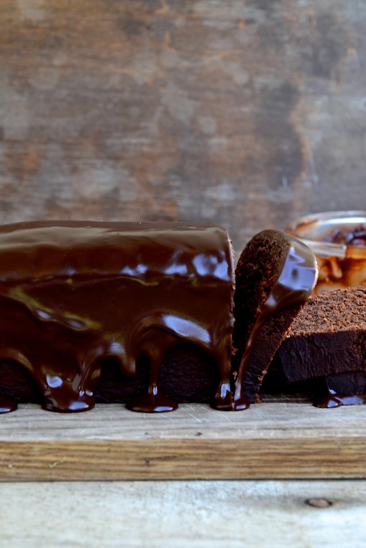 Fudgy Chocolate Banana Brea