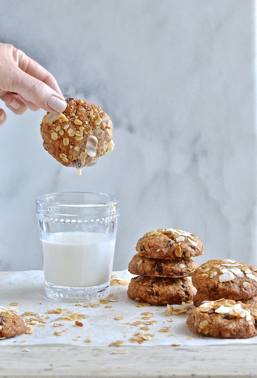 Anzac biscuits by Ottolenghi and Helen | Bibbyskitchen recipes