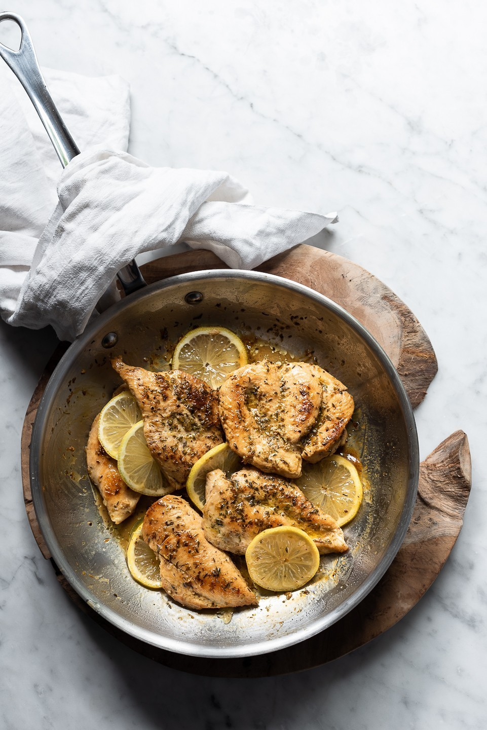 Quick Lemon and herb chicken