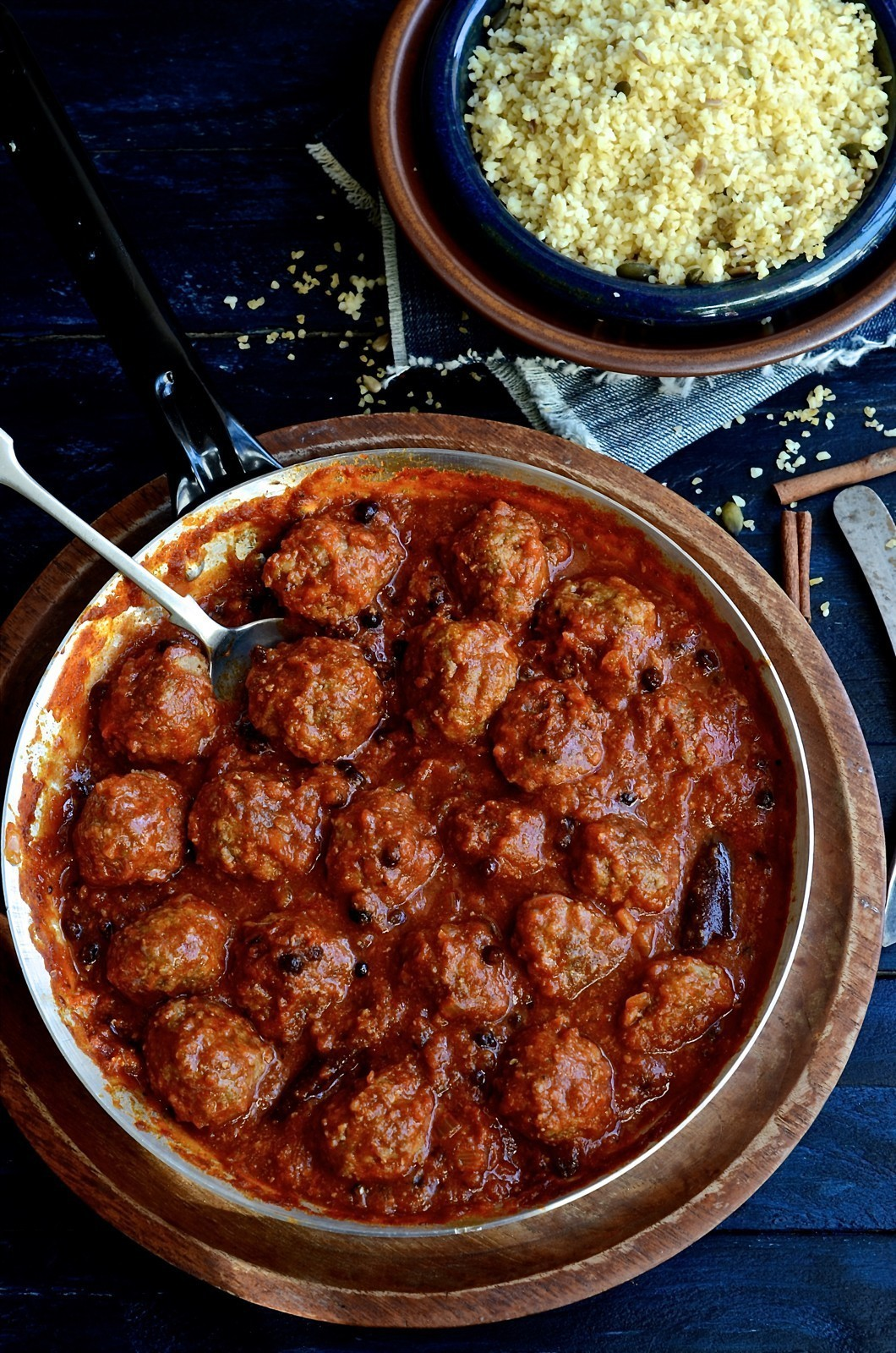 North African Chermoula Meatballs