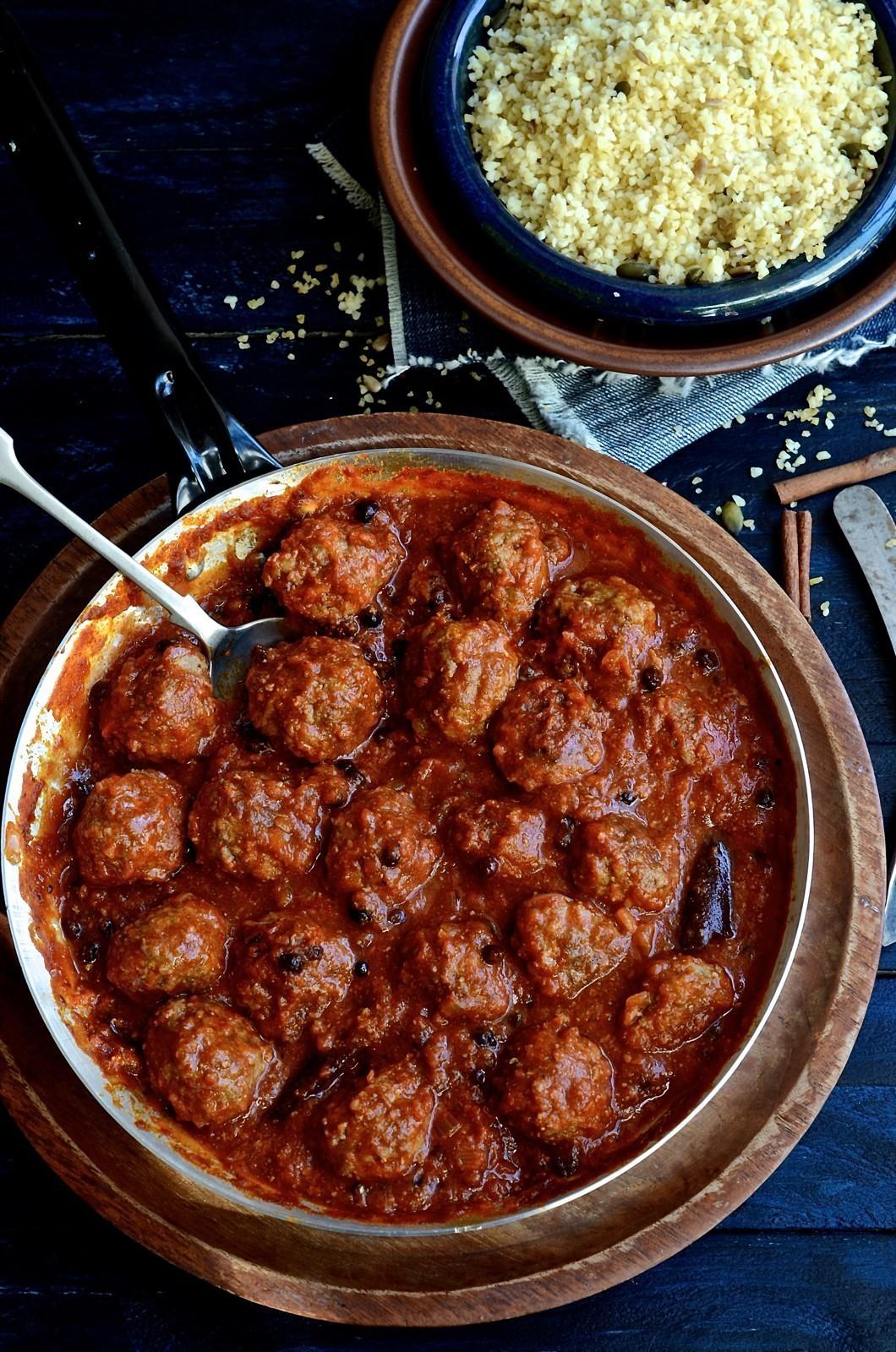 North African Chermoula Meatballs