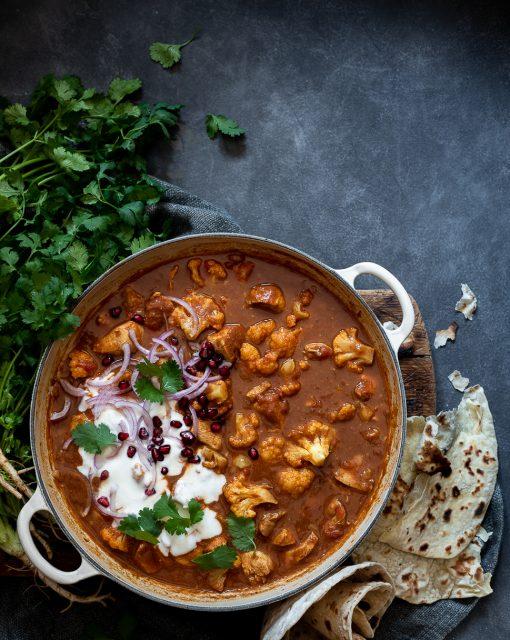 Chicken and cauliflower Korma