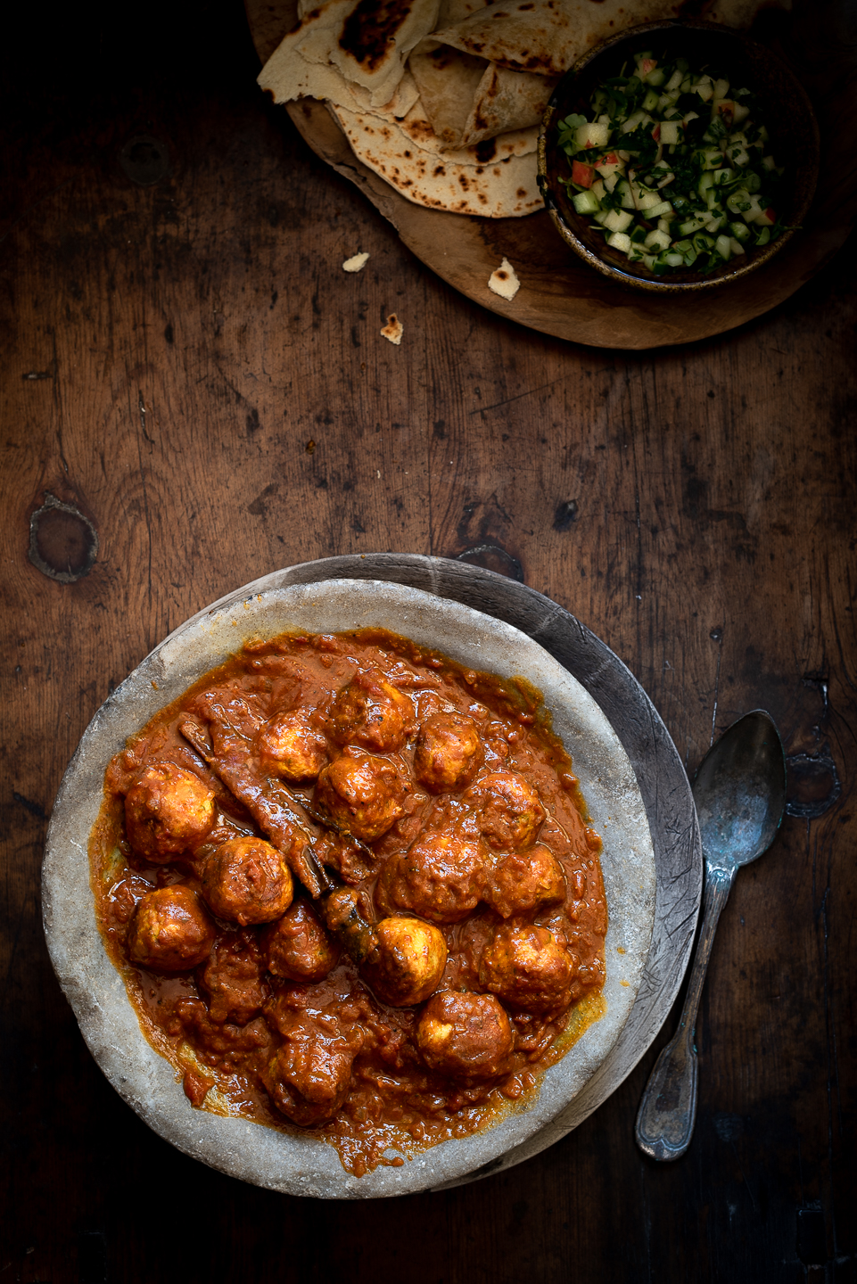 Cape Malay Chicken Meatball Curry