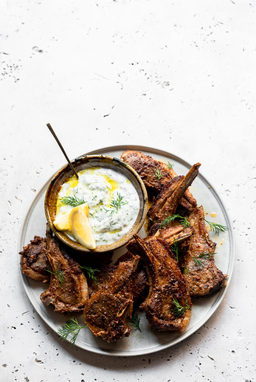 Marinated Spiced Lamb Chops