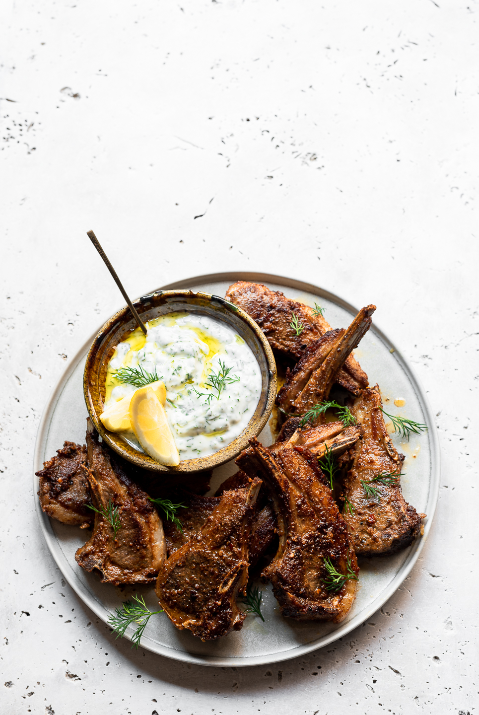 Marinated Spiced Lamb Chops