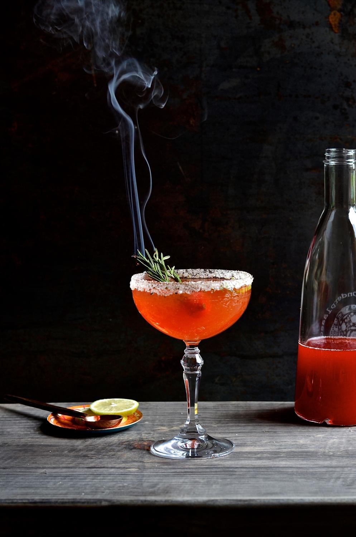 Strawberry and Limoncello Mojito