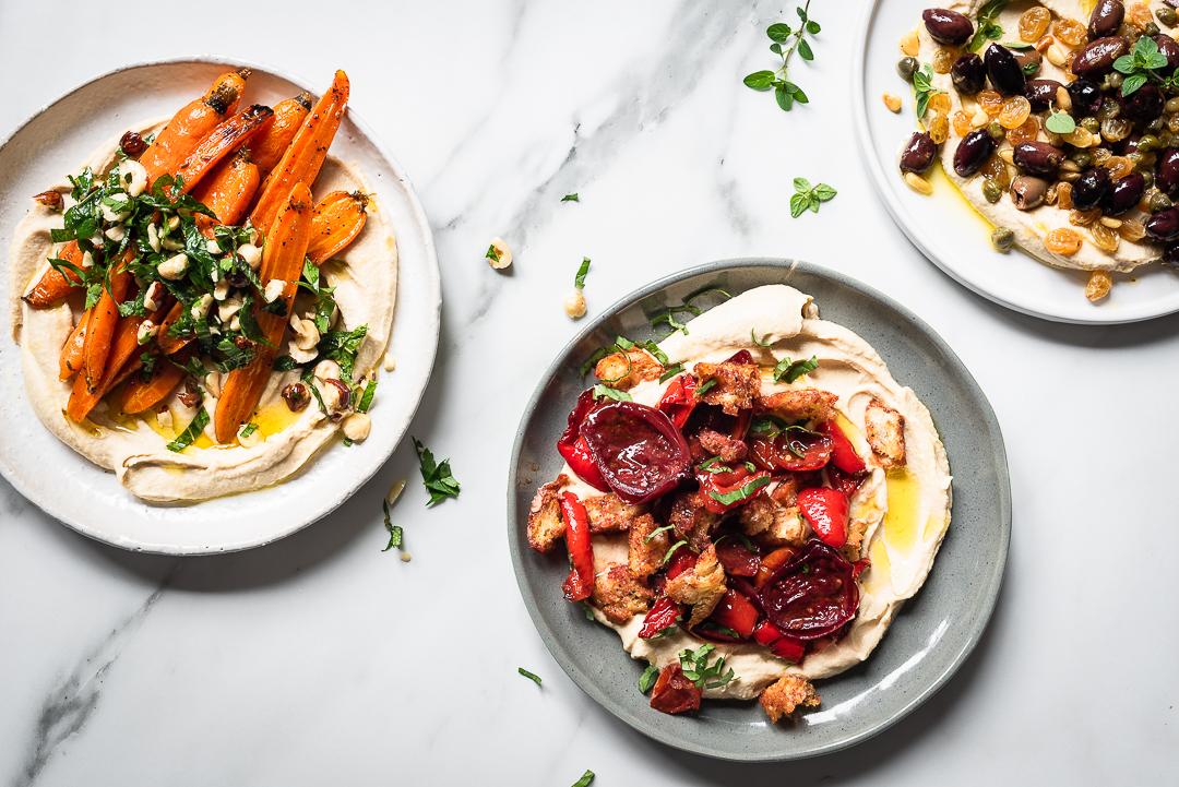 Hummus Salad Bowls