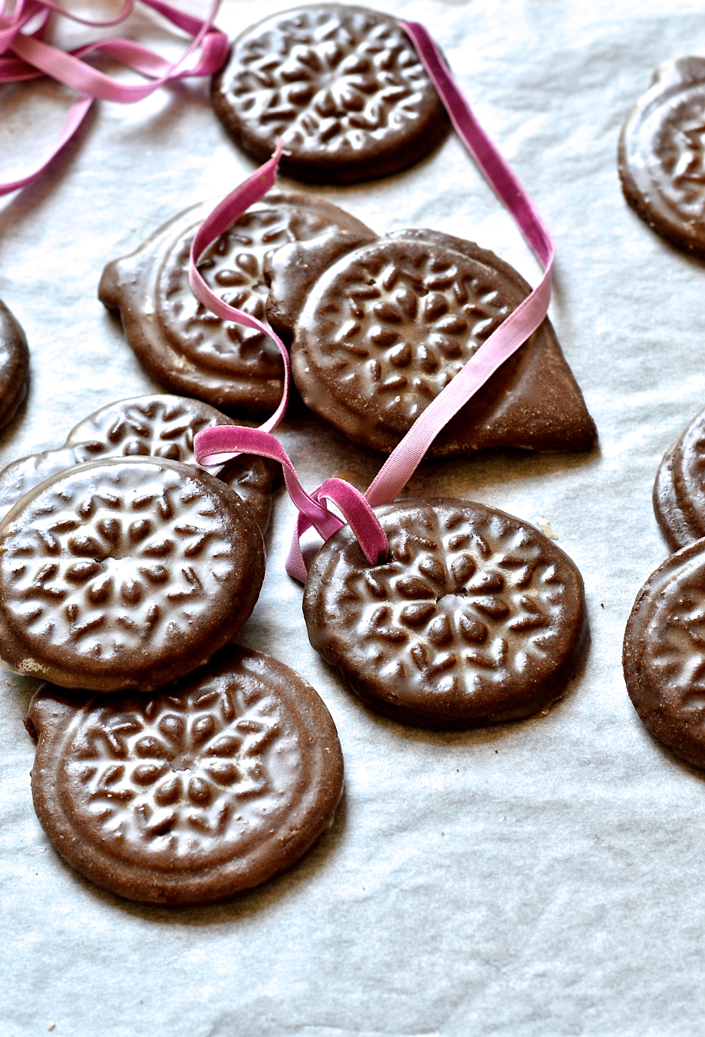 Ottolenghi's Ginger bread tile cookies
