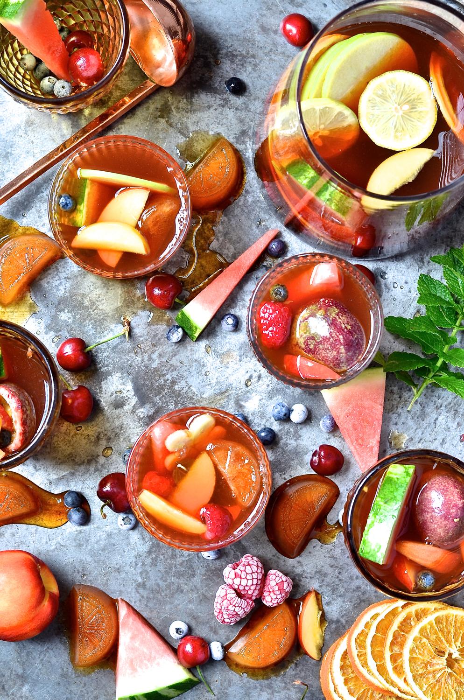 Mocktail Rooibos Sangria