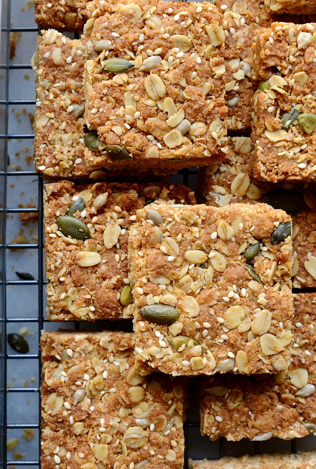 Healthy Seeded Crunchies