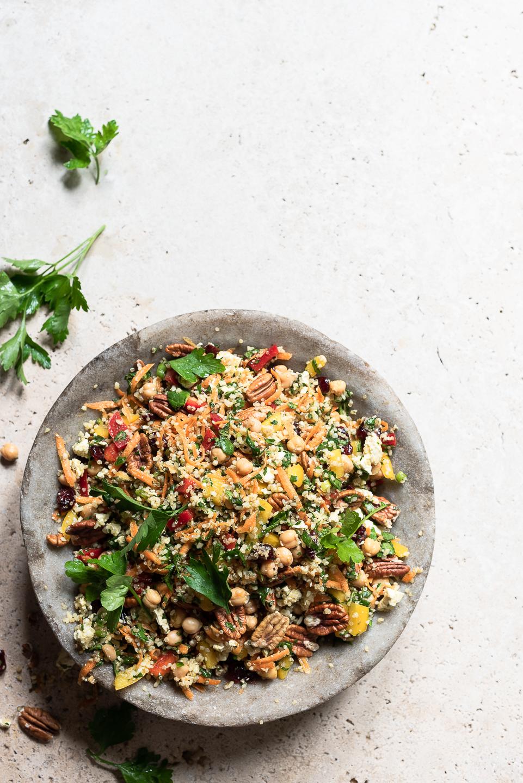Quinoa Detox Crunch Salad