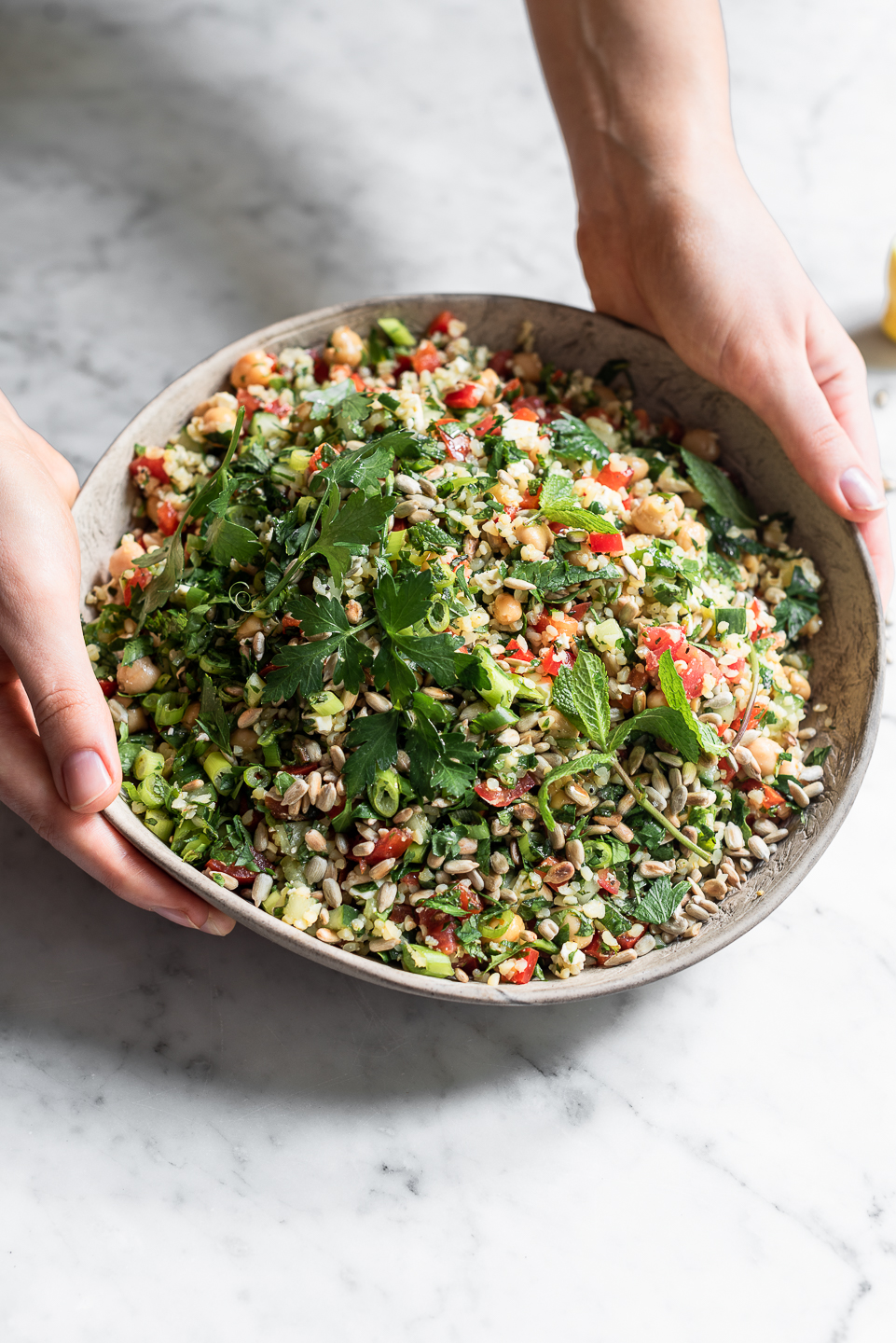 Tabbouleh Bulgur wheat Salad